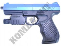 P9 PPQ Airsoft BB Gun Black and Blue